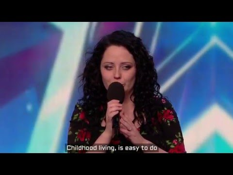 Kathleen Jenkins - Wild horses BGT (with lyrics)