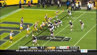 09/21/2013 Auburn vs LSU Football Highlights