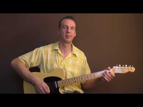 Rockabilly Guitar Lesson -  Hey Porter by Johnny Cash