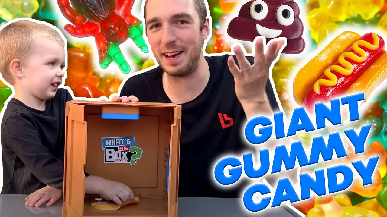 Guessing GIANT Gummy candy 🍬😋