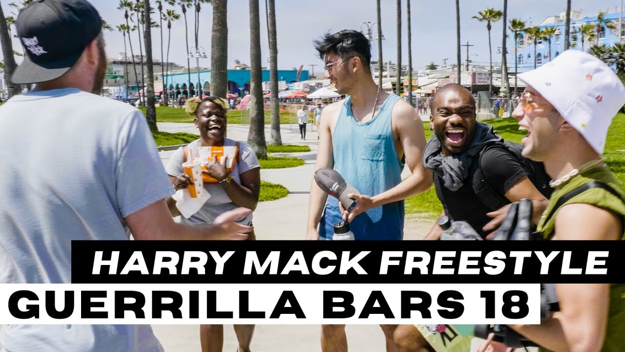 Freestyle That Got Us Kicked Off The Court | Harry Mack Guerrilla Bars 18