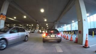 Disney Springs Parking Garage Driving Tour (2014)
