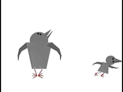 Маленький воробей который не умел летать мультфильм