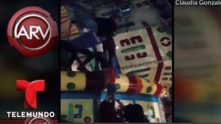 Se desploma una atracción mecánica en parque de Tijuana | Al Rojo Vivo | Telemundo