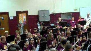 Sun Valley Middle 6th grade Fall Band concert - Freedom