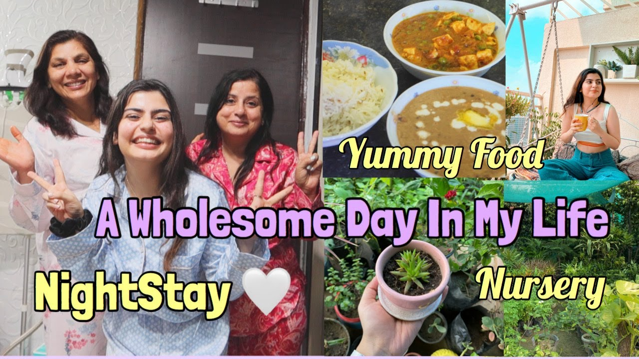 VLOG : A Wholesome Day In My LIfe| Night Stay & Yummy Food| Yashita Rai