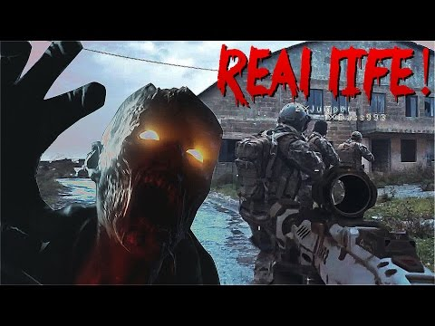 VIDEOGAMES IN REAL LIFE! - Call Of Duty Zombies Black Ops 3 (60fps)