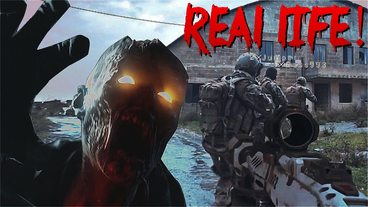 Videogames In Real Life Call Of Duty Zombies Black Ops 3 60fps Youtube