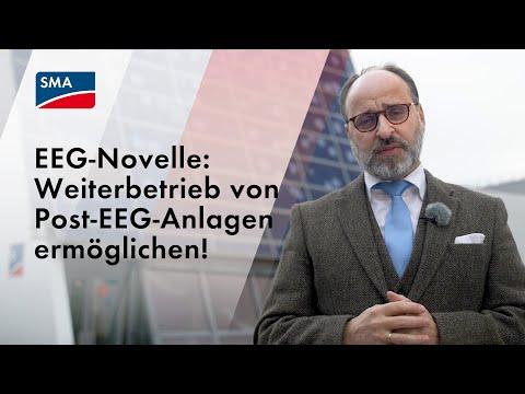 EEG-Novelle: Weiterbetrieb von Post-EEG-Anlagen ermöglichen!