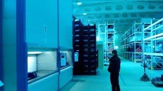 KARDEX SHUTTLE XP автоматизированный склад для АЭС Смоленск. Видео на складе атомной электростанции(Новые автоматизированные склады KARDEX SHUTLLE XP http://www.kiit.ru запущены в эксплуатацию на Смоленской атомной электр..., 2010-03-02T11:48:15.000Z)