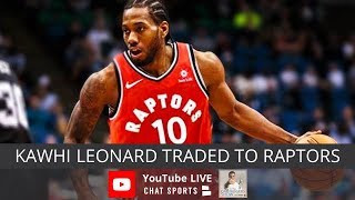 Kawhi Leonard Traded To Toronto Raptors, NBA & NFL Rumors, DeMar DeRozan Traded To Spurs
