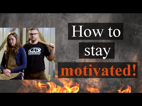 How to Stay Motivated // Keep Moving Your Blacksmith Business Forward!