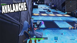 How To Complete Avalanche Map - Fortnite Creative Mode Challenge By KKSliders