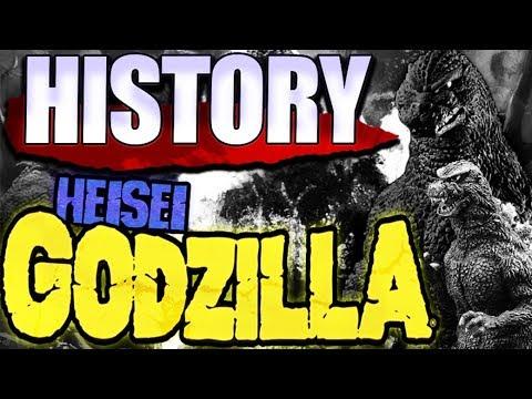 ‡ HISTORY — Heisei Godzilla KAIJU PROFILE 【wikizilla.org】