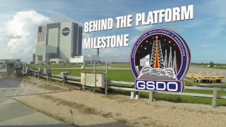 Milestone Achieved with Final Work Platform Installation in Vehicle Assembly Building