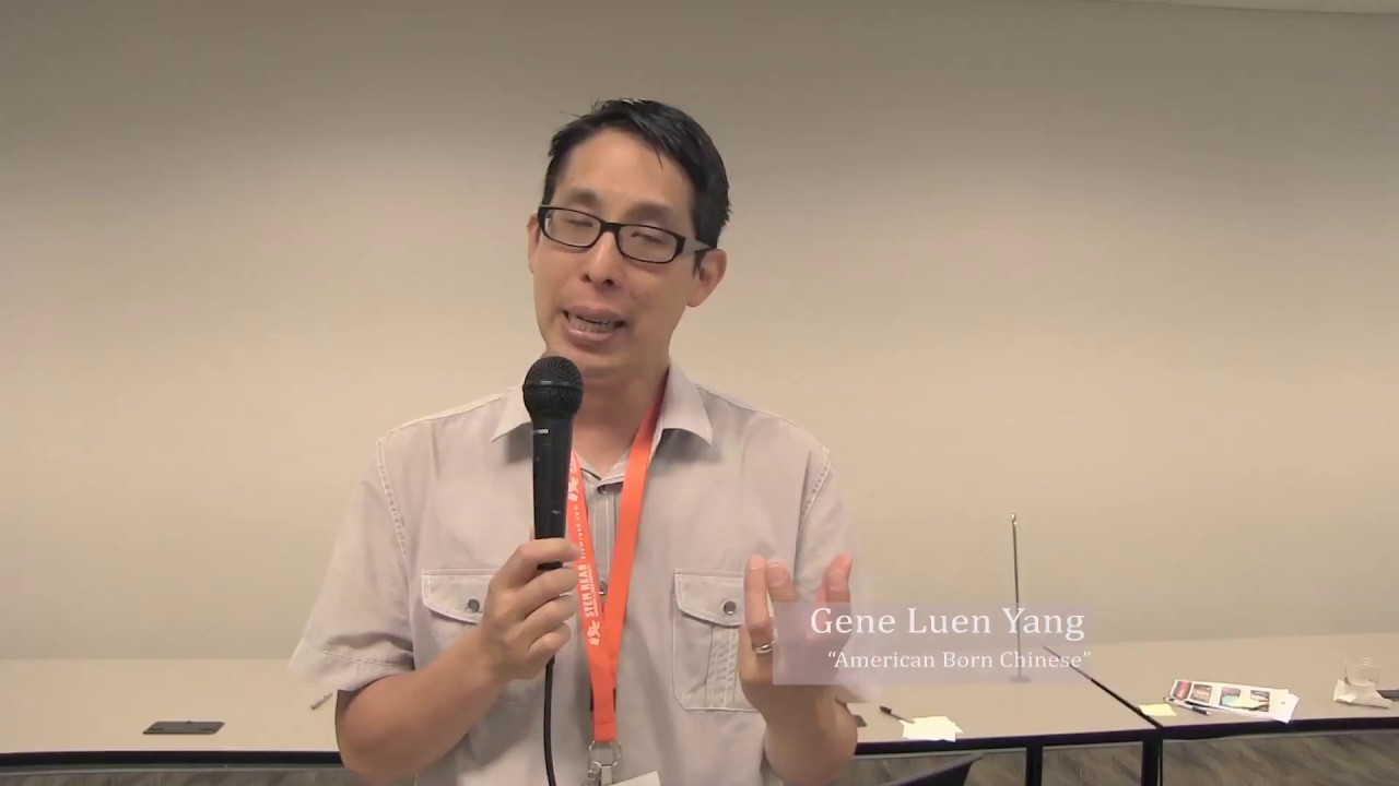 "an american born chinese by gene luen yang Gene luen yang, ambassador from the land of comics studio 360 i saw a lot of connections between chinese opera and american superhero comics,"" he tells kurt."