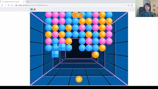 Game #23: How to Make the Bubble Shooter Game on Scratch || Color Shooter || Coding tutorial screenshot 1