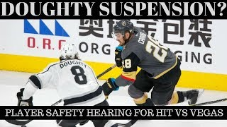 Golden Knights vs Kings Recap -NHL Playoffs 2018 -Doughty Suspension?