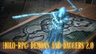 Holo-RPG: Demons and Daggers 2.0 Actiongram Sketch