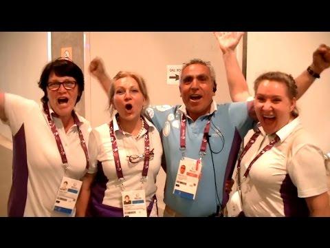 Баку-2015.European Games.Работа в Call Room.Олимпийский стадион
