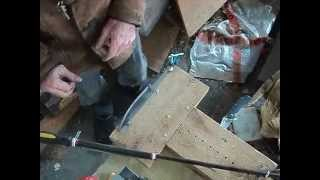 Making A Knife Blade Without Power Tools