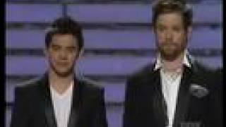 David Cook & David Archuleta Duet- American Idol Finale Show