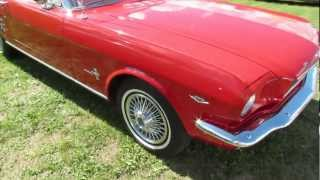 1966 Ford Mustang Conv - Woodward Dream Cruise 2012