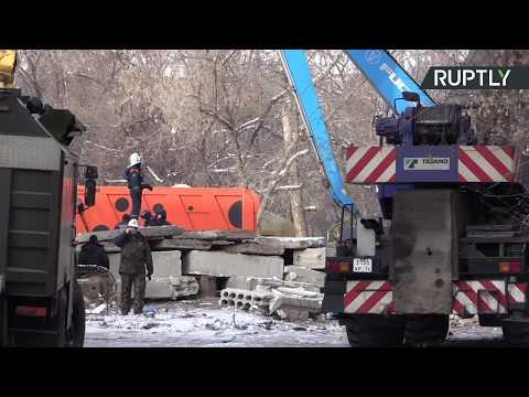 Поисково-спасательная операция в Магнитогорске — LIVE