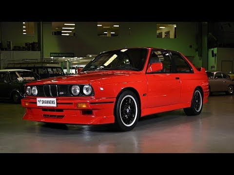1988 BMW E30 M3 Evolution II Coupe (RHD) - 2019 Shannons Sydney Autumn Classic Auction