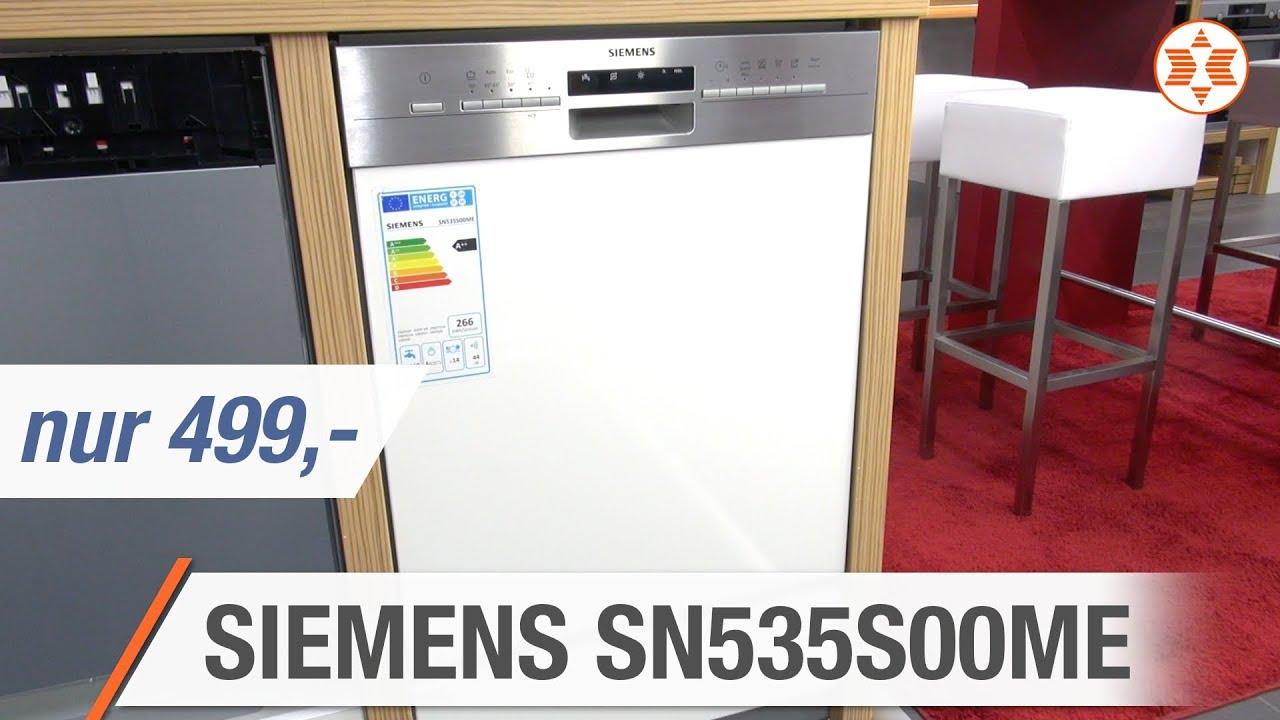 Siemens Geschirrspuler Sn535s00me Fur Nur 499 Euro Die Top