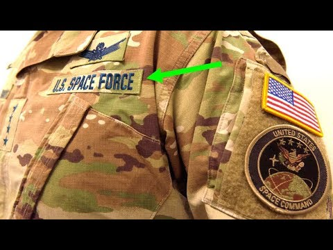 Why Does The New Space Force Uniform Offer Camouflage In Space?