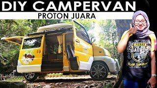 S2 EP 19 | DIY CAMPERVAN PROTON JUARA | MALAYSIA