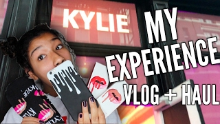 KYLIE JENNER POP-UP STORE SOHO NYC VLOG + HAUL! MY EXPERIENCE