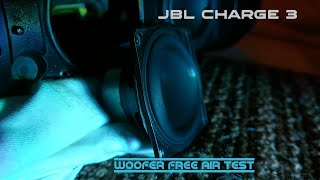 JBL Charge 3 - Woofer Free Air test