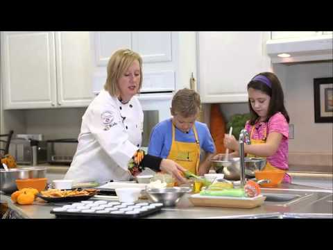 Kids Cooking Class: Ann Butler Teaches Kids to Make — Pumpkin Muffins