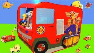 El Bombero Sam juguetes  - Camion de bomberos - Fireman Sam toys
