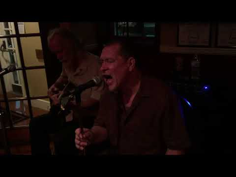 Steve Guyger with Richard Macpherson at The Temperance House