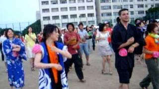 THE LAST SUMMER FESTIVAL IN OSAKA UNIVERSITY OF FORIEGN STUDIES. 大阪外大 夏祭り