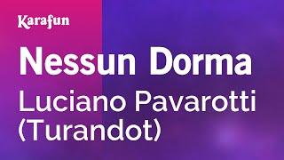 Karaoke Nessun Dorma - Andrea Bocelli *