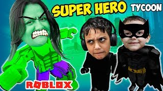 Roblox SUPER HEROES FACTORY (Super Hero Tycoon) ToysBR