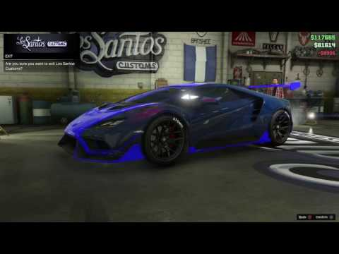 GTA5 TEMPESTA CUSTOMIZATION