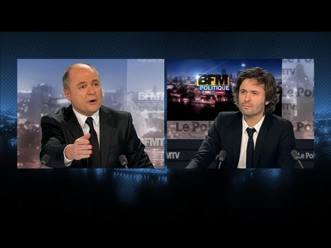 BFM Politique : l'interview du Point de  Bruno Le Roux - 03/02