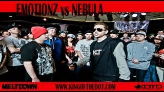 KOTD - Rap Battle - Emotionz vs Nebula