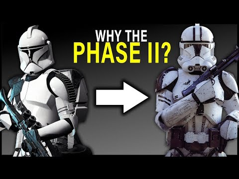 Why CLONES switched to PHASE II ARMOR (and why it's better) | Star Wars Lore