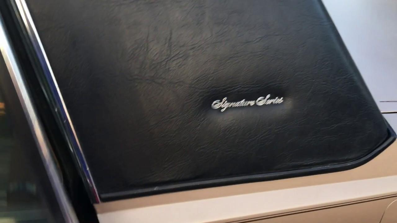 1988 Lincoln Town Car Interior Youtube