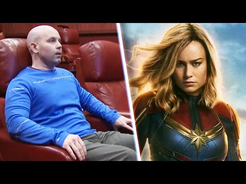 Dubs - Wisconsin Man Breaks Record By Watching 'Captain Marvel' 116 Times