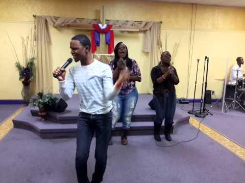 """Revelation Ministering """"God My God"""" By Vashawn Mitchell (1/31/15)"""
