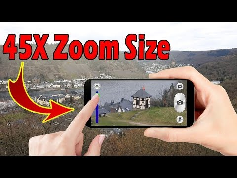 Upto 45x Zoom Size | No External Lense | Best Zooming Camera App For Android