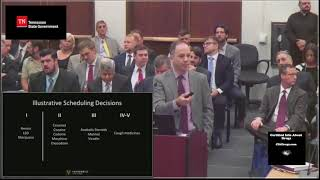 FULL VERSION VIDEO: Robert Mikos 1st Meeting of Tennessee's Medical Cannabis Task Force 9 21 2017