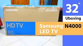 Samsung N4000 LED TV unboxing - Budget LED TV